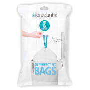 Brabantia PerfectFit Dispenser Pack F Slimline - 20 Litre (Pack of 40)