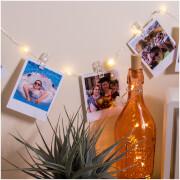 Guirlande Lumineuse avec Pinces pour Photos