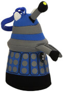 Dr Who Talking Plush Keychain - Dalek -Blue