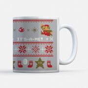 Nintendo Super Mario Ho Ho Ho It's-a-me Mug
