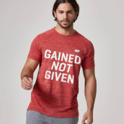 Gained Not Given T-Shirt - Red