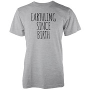 Earthling Since Birth Grey T-Shirt