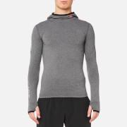 Superdry Men's Gym Sport Runner Hoody - Grey Grit