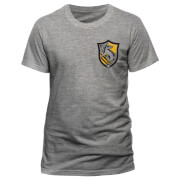 Harry Potter House Hufflepuff Männer T-Shirt - Grau