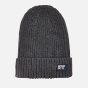 Superdry Men's Wiseman Beanie - Dark Marl