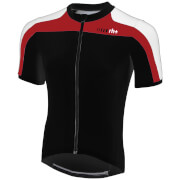 RH+ Space Short Sleeve Jersey - Black/White/Red