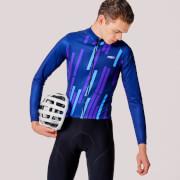 PBK Vello Winter Roubaix Jersey - Blue