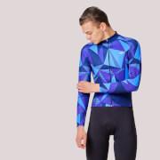PBK Poligo Winter Roubaix Jersey - Blue