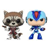 Marvel Vs Capcom Rocket Vs MegaMan Pop! Vinyl Figure 2 Pack
