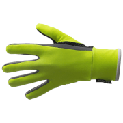 Santini Vega Aquazero Winter Gloves - Yellow