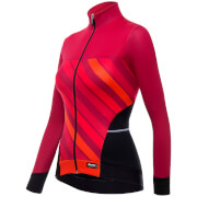 Santini Women's Coral 2 Winter Long Sleeve Jersey - Orange