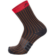 Santini Tono Aero Light Medium Socks - Red