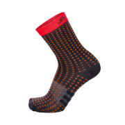Santini Tono Aero Light Medium Socks - Red