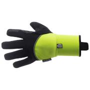 Santini Deep Double Layer Winter Gloves - Yellow