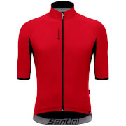 Santini Beta Light Wind Jersey - Red