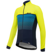Santini Epic Winter Long Sleeve Jersey - Yellow