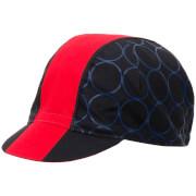 Santini Cotton Redux Design Cap - Red