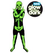 Morphsuit Kids' Glow in the Dark Skeleton - Black