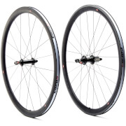 Edco Optima Albula Carbon Clincher Wheelset - Black/Black