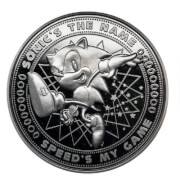 Sonic Collector's Limited Edition Coin: Silver Variant