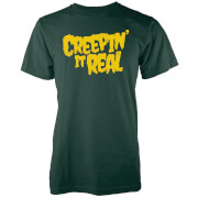 T-Shirt Homme Creepin It Real - Vert