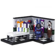 Kit de Construction Five Nights At Freddy's Paper Pals Party avec Bonnie Fanée (Micro Set) - McFarlane