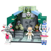 Kit de Construction Five Nights At Freddy's Control Module Large avec Ballora, Jumpscare et Funtime Foxy (Micro Set) - McFarlane