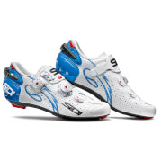 Sidi Wire Carbon Air Vernice Women's Cycling Shoes - White/Light Blue