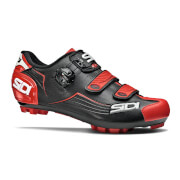 Sidi Trace MTB Shoes - Black/Red