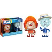 Figurines Vynl. Heat Miser et Snow Miser