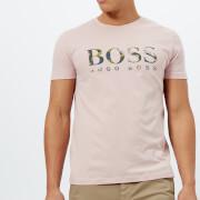 BOSS Orange Men's Tauno 7 Printed T-Shirt - Pink