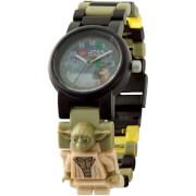 Reloj de pulsera con Minifigura de Yoda - LEGO Star Wars