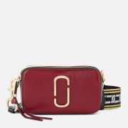 Marc Jacobs Women's Snapshot Cross Body Bag - Deep Maroon/Graphite