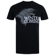 Game of Thrones Men's Winter is Coming T-Shirt - Black