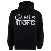 Sweat à Capuche Homme Logo Game of Thrones - Noir