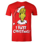 The Grinch Men's Christmas I Hate Xmas T-Shirt - Red