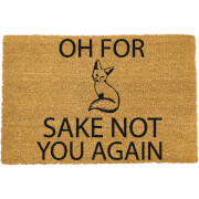 For Fox Sake Doormat