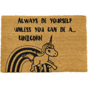 Be A Unicorn Doormat