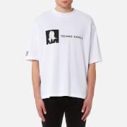 Helmut Lang Men's Techno Jungle Jersey - White