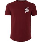 T-Shirt Homme Base DFND - Bordeaux