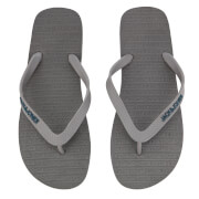 Jack & Jones Men's Plain Flip Flops - Beluga/Legion Blue