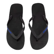 Jack & Jones Men's Plain Flip Flops - Anthracite/Turkish Sea