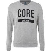Jack & Jones Core Men's May Crew Neck Sweatshirt - Light Grey Marl