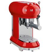 Smeg ECF01RDUK Espresso Machine - Red