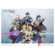 Fire Emblem Warriors A3 Poster