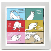 On the Prowl Cats To Do Limited Edition Art Print