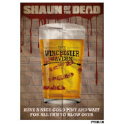 Shaun of the Dead The Winchester Limited Edition Art Print