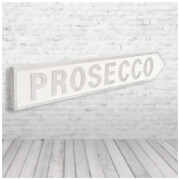 Shh Interiors 'Prosecco' Vintage Street Sign