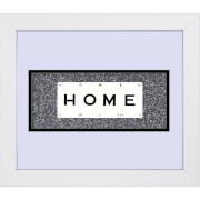 Playing Card Co 'Home' Framed Vintage Style Playing Cards - 30x 25cm