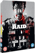 The Raid 1 & 2 - Zavvi Exclusive Limited Edition Steelbook (Title Debossed)